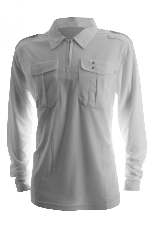 Uniformshirt lange mouw